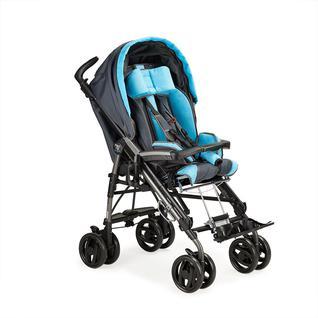 АРМЕД Система колясочная инвалидная детская Pliko (для детей больных ДЦП) (цвет черно-голубой)