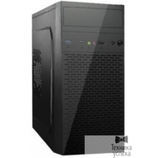 EXEGATE Exegate EX268026RUS Корпус Minitower Exegate MA-370 Black, mATX <CP450, 80mm> 2*USB+1*USB3.0, Audio