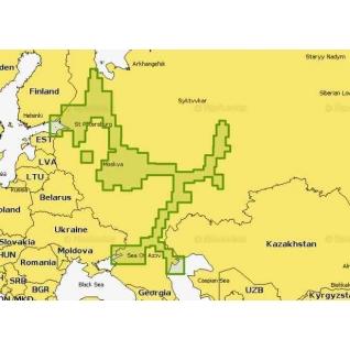 Карта Navionics Plus 52 XG на карте 8 Гб Navionics