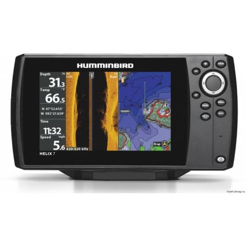 Эхолот-картплоттер Humminbird Helix G2N 7х CHIRP SI GPS (HB-Helix7XSIGPSG2N) 36981613