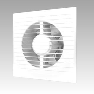 Вентилятор ERA D100 Е100С-02 с обр клапаном, тяговым выключателем