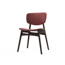 Мягкий стул SID Тёмная берёза + шоколад