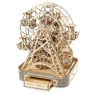 Сборные модели Wooden City Деревянный конструктор 3D Колесо Обозрения