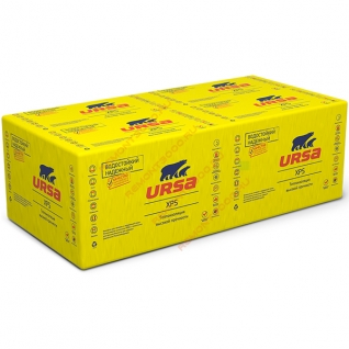 УРСА XPS Г4 1180х600х100мм (4шт=2,83м2=0,28м3) / URSA экструдированный пенополистирол XPS-N-III-L-G4 1180х600х100мм (упак. 4шт=2,83м2=0,28м3) Урса