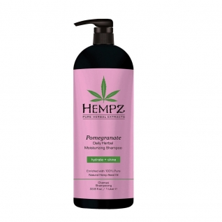 HEMPZ Daily Herbal Moisturizing Pomegranate Shampoo - Шампунь растительный Гранат легкой степени увлажнения