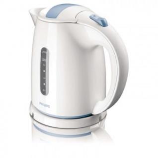 Чайник Philips HD 4646/70 1.5л 2400Вт бел./сер.голубой