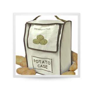 Хранение продуктов, овощей. Мешочки для овощей. Обработка продуктов. Potter Ind. Ltd. Сумка для хранения картофеля Potato case NMKC059/CV
