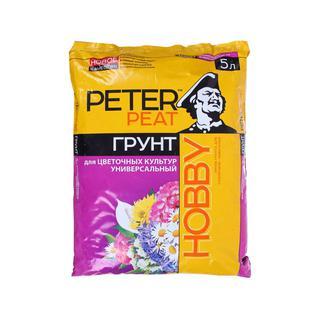 Грунт PETER PEAT Универсальный для цветочных культур линия Хобби 5 л