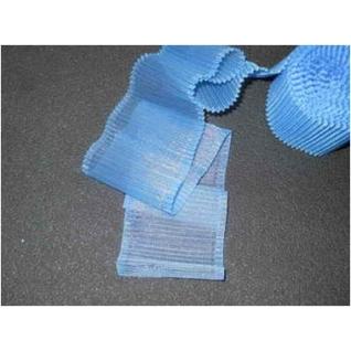 Лента гофрированная лн.0014 80 мм для новорожденных, цвет голубой Спортбэби