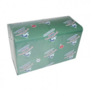 Салфетки Profi Pack 2 сл. 24х24 зеленые 250 шт./уп.