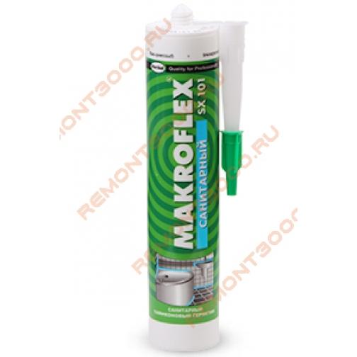 МАКРОФЛЕКС SX101 герметик Санитарный бежевый (0,29л) / MAKROFLEX герметик Санитарный силиконовый SX101 бежевый (0,29л) Макрофлекс 36983484