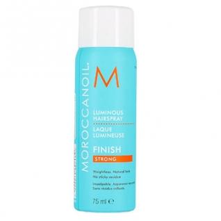 Сияющий лак для волос Moroccanoil сильной фиксации