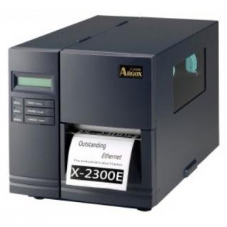 Argox Argox X-2300E-SB (термо/термотрансферная печать, интерфейс Lan, USB, COM, LPT и PS/2, ширина печати 104мм, скорость 152мм/с)