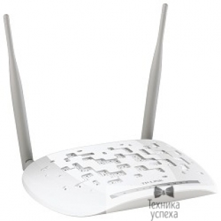 Tp-link TP-Link TD-W8961NB 4-port 300Mbps Wireless N ADSL2+ Modem Router, Trendchip+Ralink chipset, ADSL/ADSL2/ADSL2+, Annex B, with ADSL splitter, 802.11n/g/b, 2 detachable antennas