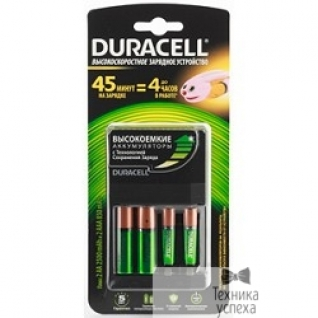 Duracell Duracell CEF14 45-min express charger + 2 х AA2500 mAh + 2 х AAA850 mAh (3/540)
