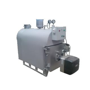 Газовый паровой котел производительностью 700 кг/час низкого давления