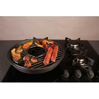 Домашняя барбекюшница - сковорода Чудо Гриль - газ Китай