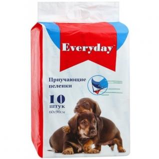 Everyday EVERYDAY впитывающие пеленки для животных ГЕЛЕВЫЕ 60 х 90 см, 10 шт