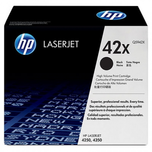 Картридж Q5942X №42X для HP LJ 4250, 4350 series (черный, 20000 стр.) 712-01 Hewlett-Packard 852606 1