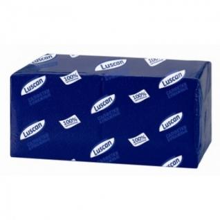 Салфетки бумажные Luscan Profi Pack 1сл24х24синие400шт/уп