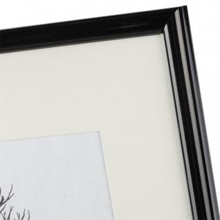 Рамка с паспарту, пластик, 30х40, черный цвет 508П