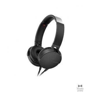 Sony SONY MDR-XB550AP 1.2м черный проводные (оголовье)