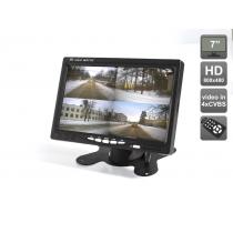 """Автомобильный монитор 7"""" со встроенным квадратором для установки на приборную панель AVIS AVS4715BM Avis"""