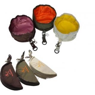 Миска-сумка дорожная (15,5см)