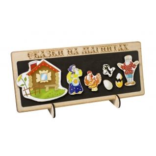 """Кукольный театр """"Сказки на магнитах"""" - Курочка Ряба Бэмби"""