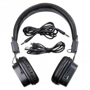 Гарнитура RITMIX RH-480BTH, красный, Bluetooth 4.0, mp3-плеер.FM-радио . подключаемый кабель. (1/40)