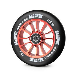 Колесо Hipe 01 110mm, красный/черный