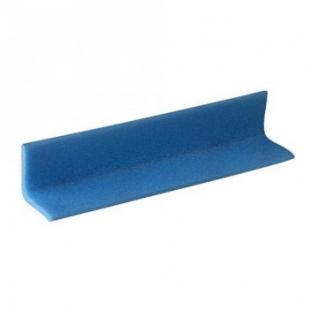 Профиль защитный Г-образный, тип 50х50-6, 2000мм, синий , 10 шт/уп