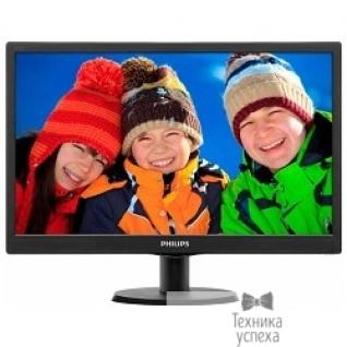 """Philips LCD PHILIPS 18.5"""" 193V5LSB2/10(62) Black"""
