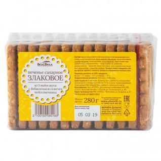 Печенье Вкусвилл сахарное злаковое, 280г