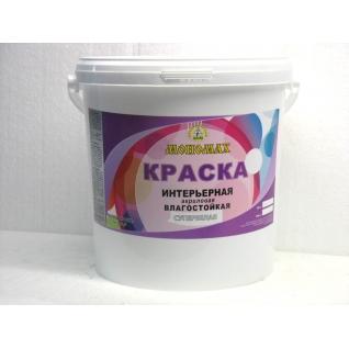 Краска Мономах влагостойкая (для помещений с повышенной влажностью) 40 кг Standart