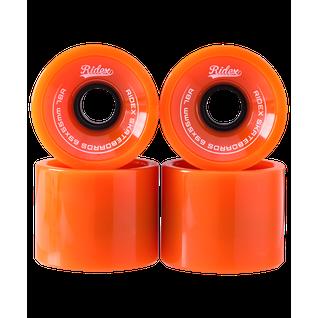 Комплект колес для лонгборда Ridex Sb, оранжевый, 4 шт.