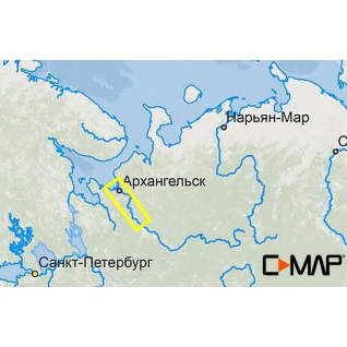 Карта C-MAP RS-N517 - Северная Двина низовье C-MAP