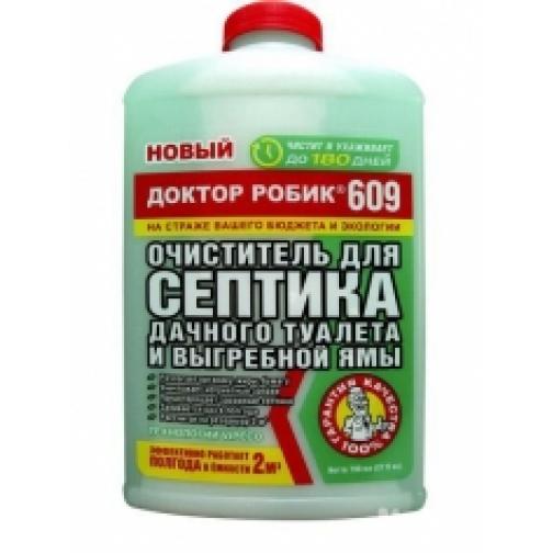 Доктор Робик,Очиститель для септика, дачного туалета и выгребной ямы 493