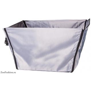 Автогамак-корзина для перевозки домашних животных двухслойный (70см)
