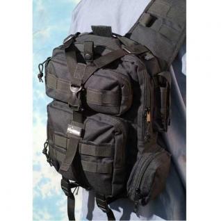 Однолямочный рюкзак Kiwidition Tonga, черный