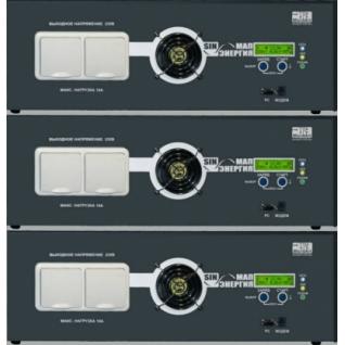 Источник бесперебойного питания MAP Инвертор HYBRID 24 9 x 3 фазы (24В, 27 кВт)