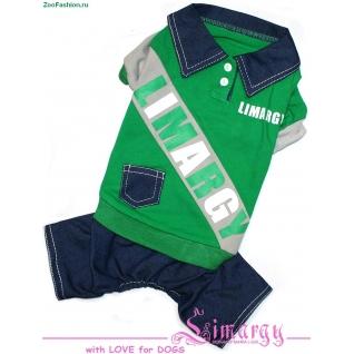 "Комбинезон ""B-Jeans"" зеленый (28см )"