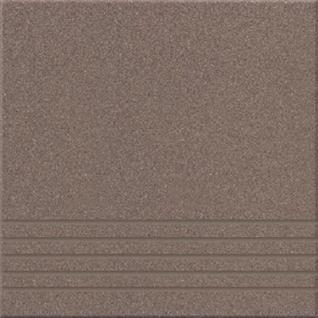 УГ 18 Ступень керамогранит матовый 300х300мм коричневый (15шт=1,35м2) / УГ 18 Ступени керамогранит неполированный 300х300х8мм коричневый (упак. 15шт.=1,35 кв.м.)