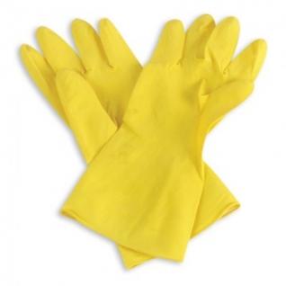 Перчатки резиновые PACLAN Professional латекс желтый р-р XL
