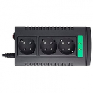 Стабилизатор напряжения APC Line-R LS1500-RS (3 евро/750Вт/284Дж/черный)
