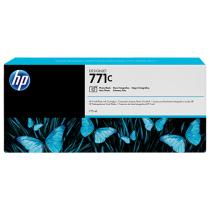 Оригинальный картридж B6Y13A 771C для принтеров HP Designjet Z6200/Z6600/Z6800, с фото чёрными чернилами, струйный, 775 мл 8677-01 Hewlett-Packard