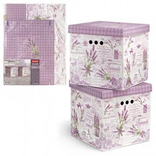 Мебель для дома VAL LAVANDE Короб карт,склад,кв, 2 шт,LV-BCTN-2K NoName