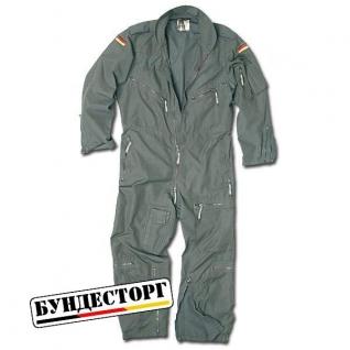 Комбинезон пилота, Бундесвер, цвет серый, б/у