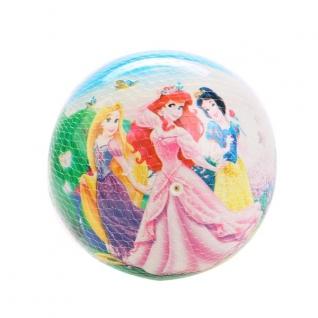 """Мяч Пвх """"Играем Вместе"""" Disney. Принцессы. Полноцвет Размер 23см В Сетке"""