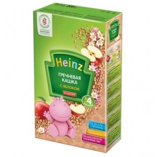 Гречневая кашка Heinz с яблоком (с 4 мес.), 200 гр.